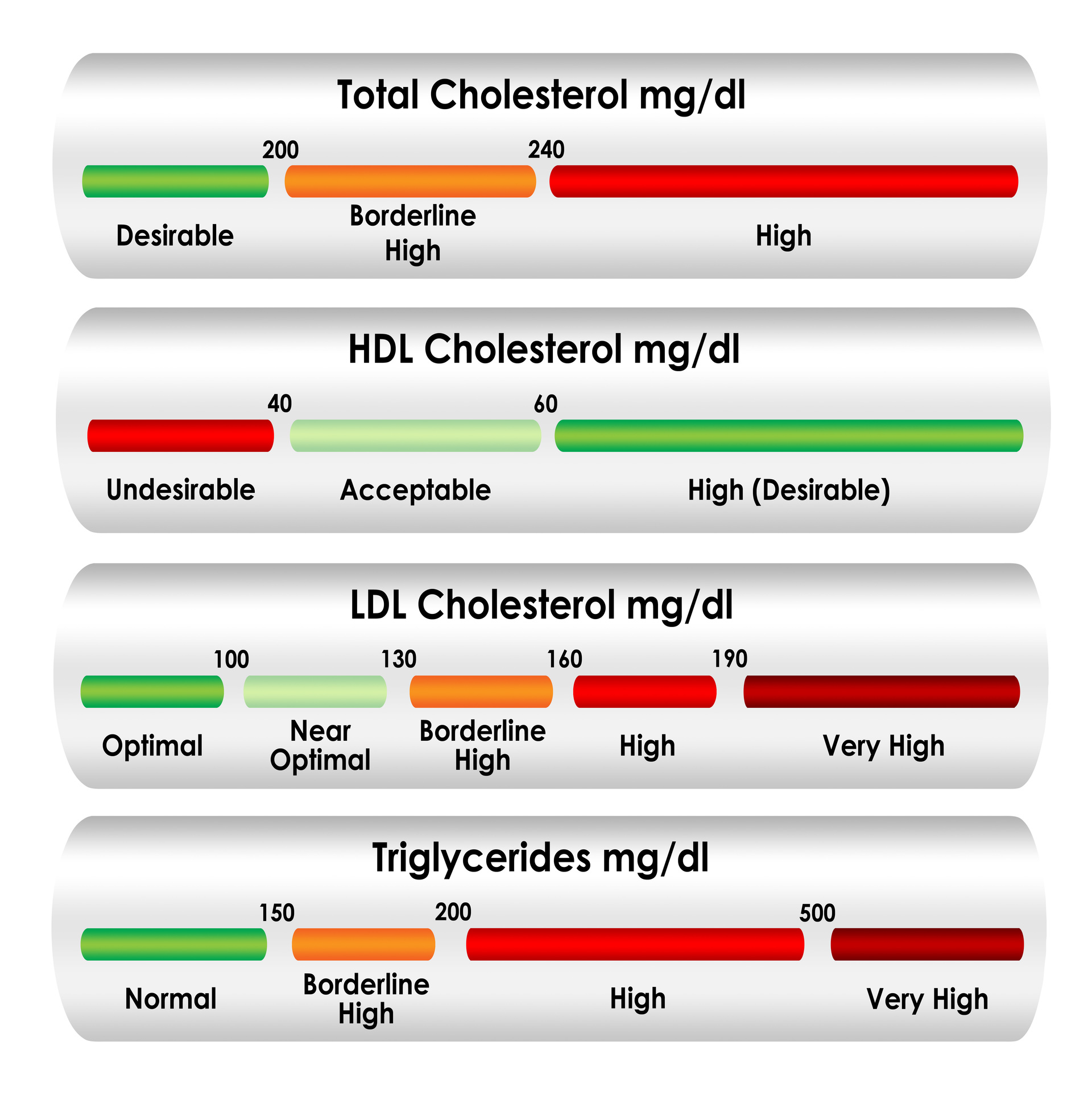 Cholesterol Level Chart - Pooler GA